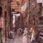 Via dei Cappellari a Roma