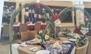 Particolare di un ristorante in Kenya