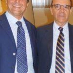 Maurizio Esposito con Stefano Parisi