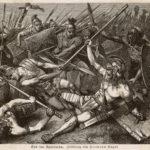 La morte di Spartaco, di Hermann Vogel