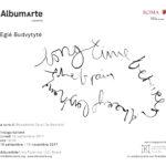 La locandina della mostra di AmbumArte
