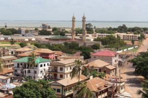 Banjul, capitale del Gambia