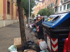 Cassonetti a Roma
