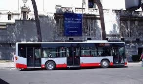 Autobus a piazza Venezia