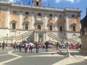 Campidoglio, sede del comune di Roma