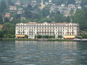Villa d'Este a Cernobbio, sede del Forum Ambrosetti