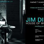 Jim Dine - Locandina dell'evento