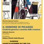 Il demone di Picasso, la locandina