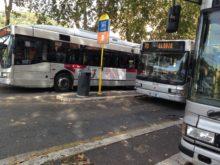 Atac moribonda, autobus al capolinea