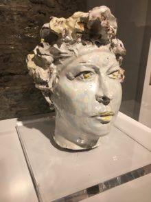 Lucio Fontana, ritratto femminile