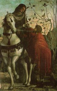 San Martino e il povero, Vittore Carpaccio