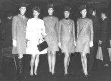 Alitalia-Lufthansa, divisa di Mila Schon del 1969