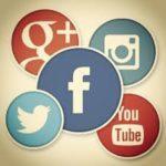 informazione, i simboli dei social media