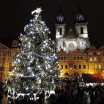 Spelacchio, albero di Natale a Praga