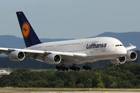 Alitalia diventa Lufthansa, aereo Lufthansa
