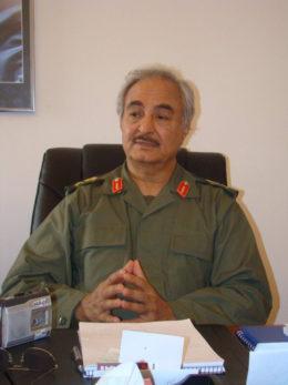 Haftar, il generale Kalifa Haftar