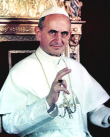 I Papi dei Concili, Papa Paolo VI