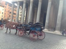 botticelle di Roma, botticella al Pantheon