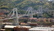 disastro di Genova, il Ponte Morandi prima
