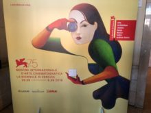 Mostra di Venezia, la locandina