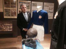 Mezzo Secolo d'Azzurro, Nino Benvenuti visita la mostra
