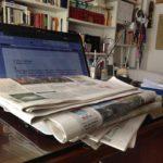Non Abbocco, computer e giornali