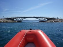 ponte di Caprera, il ponte di Caprera