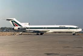Alitalia-Fs, un Boeing 727 I-DIRJ Alitalia