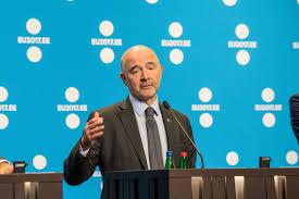 lo spettro Grecia, Pierre Moscovici