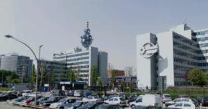 Tg, sede Mediaset di Cologno Monzese