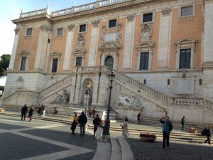Turismo a Roma, Palazzo Senatorio al Campidoglio