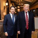 nuova via della seta, Giuseppe Conte e Donald Trump