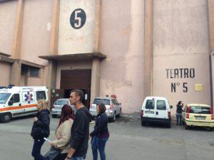 Fellini, Teatro di Posta 5 di Cinecittà