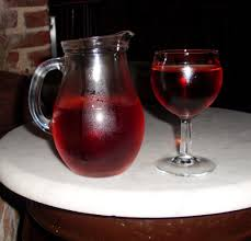 Vino, Caraffa e bicchiere di vino