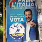 Elezioni europee, manifesto elettorale di Matteo Salvini