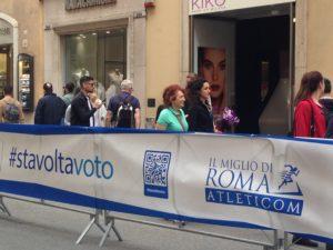 Miglio di Roma, StavoltaVoto al Miglio di Roma