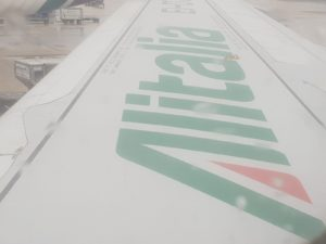 Atlantia, ala di aereo Alitalia