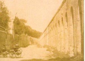 Foto della Repubblica Romana, Acquedotto dell'Acqua Paola, 1849