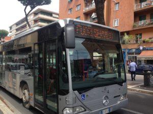 Sciopero dei trasporti, autobus fuori servizio