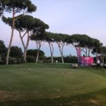 Golf, un momento di una partita a golf