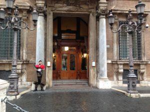 Moscopoli, l'ingresso del Senato