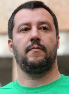 Strappi di Salvini, Matteo Salvini