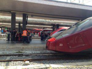 Sciopero dei trasporti, treni alla Stazione Termini di Roma