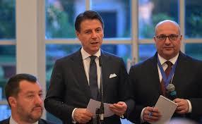 Crisi, Giuseppe Conte con Matteo Salvini