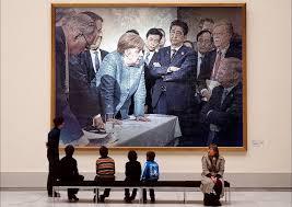 Germania, Angela Merkel e Donald Trump