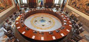 Governo del cambiamento, Sala del Consiglio dei ministri