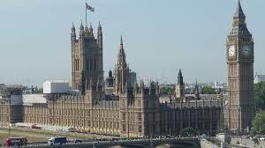 Johnson, Il Parlamento del Regno Unito