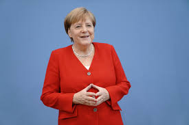 Sassonia, Angela Merkel