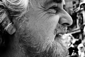 Conte due, Beppe Grillo