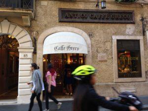 caffè greco, L'Antico Caffè Greco